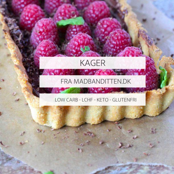 KAGER FRA MADBANDITTEN.DK - LOW CARB - LCHF - GLUTENFRI