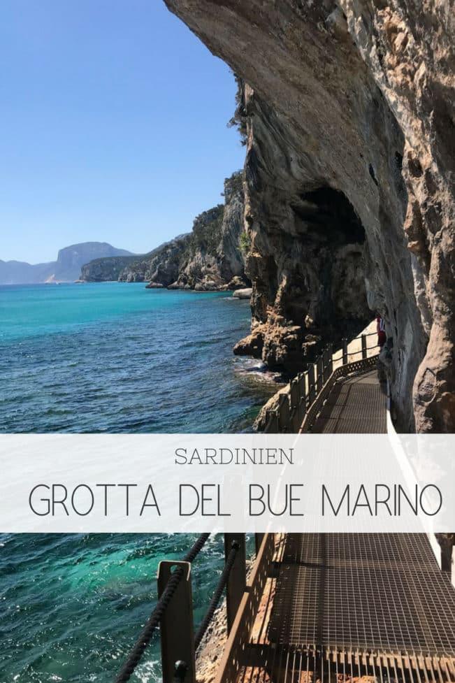 Bue Marino grotten på Sardinien