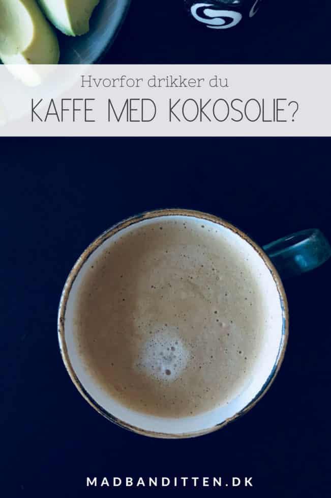 Kaffe med kokosolie - Hvorfor drikke kaffe med kokosolie? Hvordan, hvor meget og hvorfor putte kokosolie i sin kaffe.