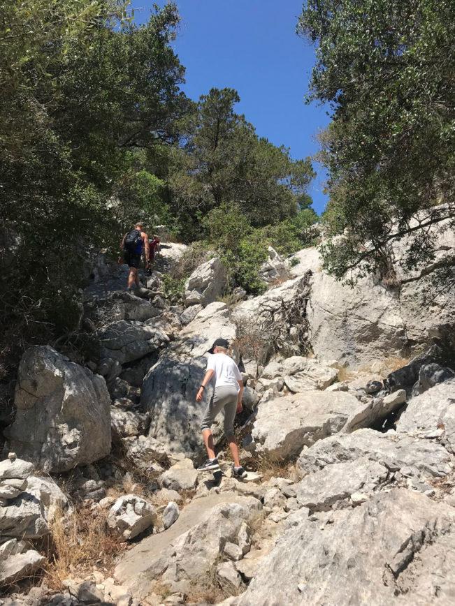Bue Marino grotten på Sardinien - en virkelig imponerende oplevelse