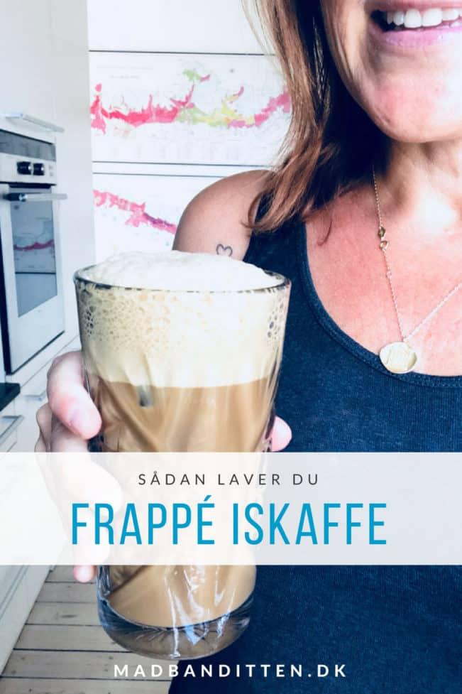 Frappé iskaffe - sådan laver du den dejligste iskolde frappé i sommervarmen