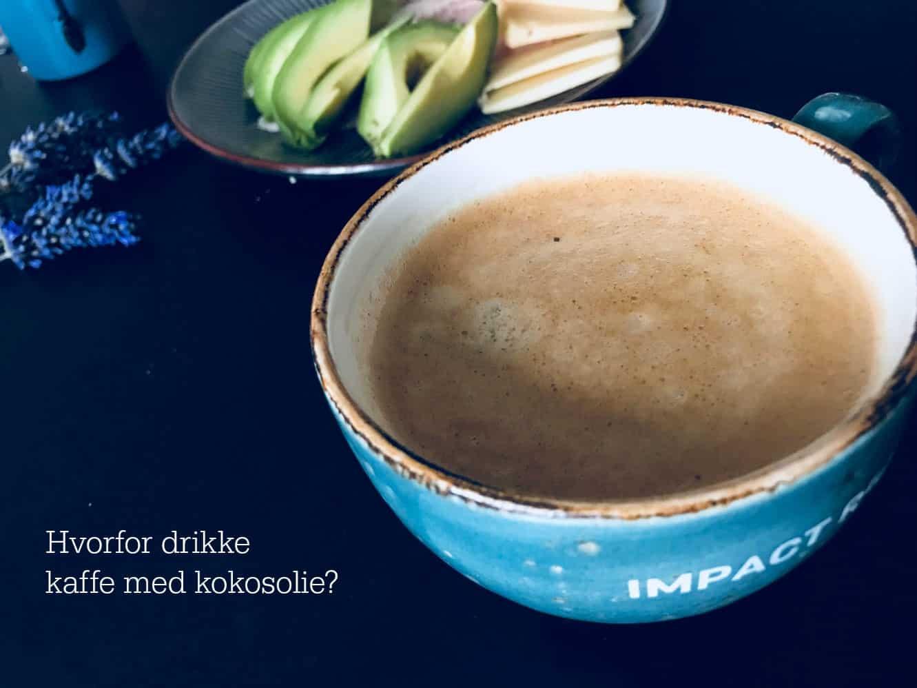 Hvorfor drikke kaffe med kokosolie? Hvordan, hvor meget og hvorfor putte kokosolie i sin kaffe.