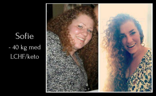Sofie tabte 40 kg – 'Jeg elsker min nye livsstil!'