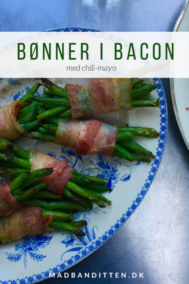 Bønner i bacon med chilimayo - lækreste Low Carb tilbehør