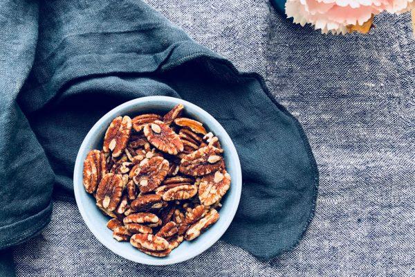 Saltede pekannødder - min bedste opskrift på lækker low carb snack