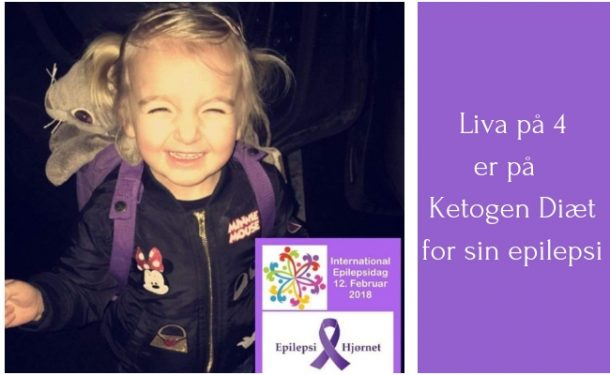 LCHF og epilepsi: Liva på 4 år spiser ketogen kost