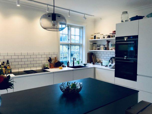 Flytning og nyt køkken