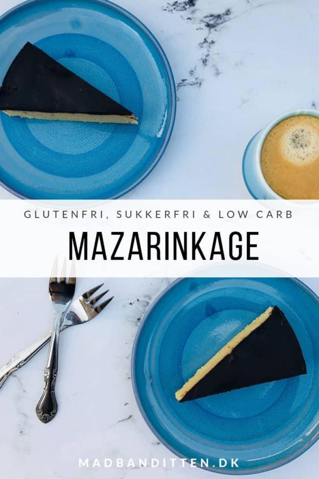 Mazarinkage - den bedste opskrift på glutenfri mazarinkage uden raffineret sukker og med hemmelig ingrediens, nemlig bønner