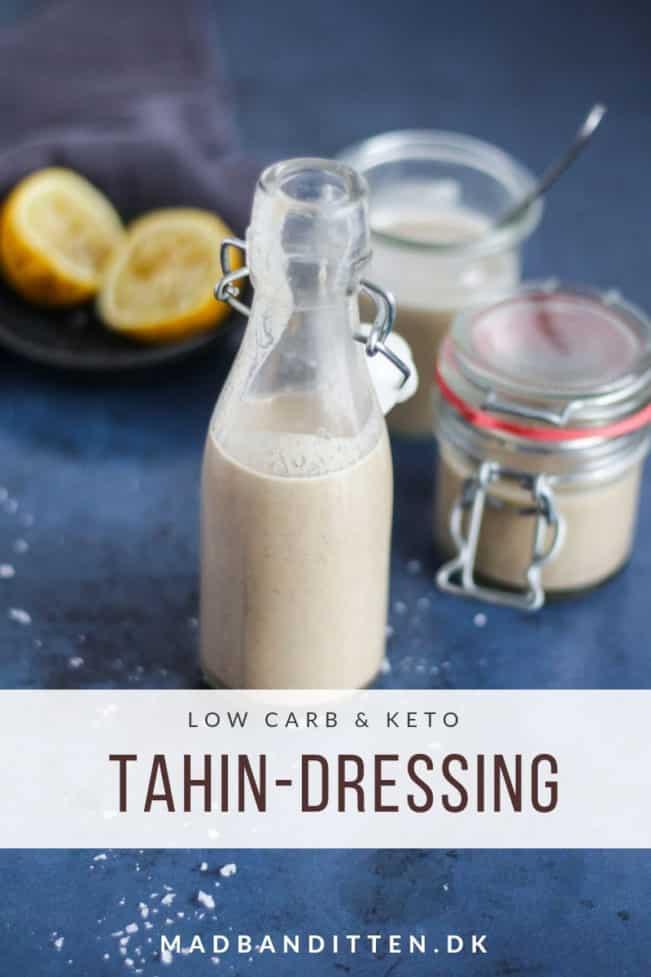 Tahindressing - den bedste opskrift på tahindressing til dine salater og grøntsager
