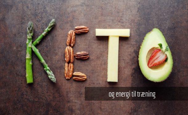 KETO og energi til træning