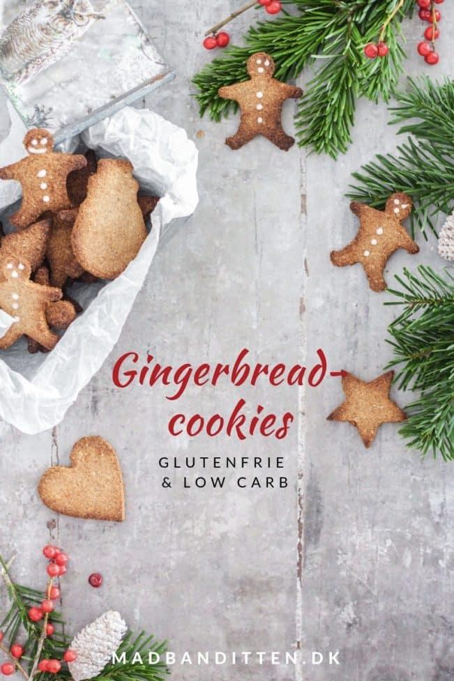 Gingerbread cookies - lækker opskrift på småkagefigurer uden mel og sukker