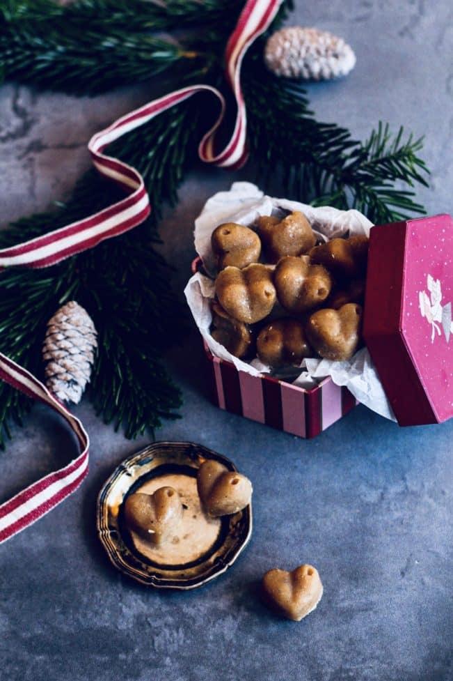 Julekarameller uden raffineret sukker