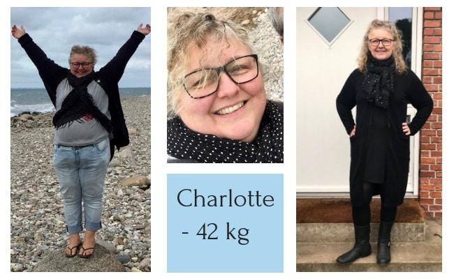 Charlotte tabte 42 kg med KETO - stort vægttab KETO