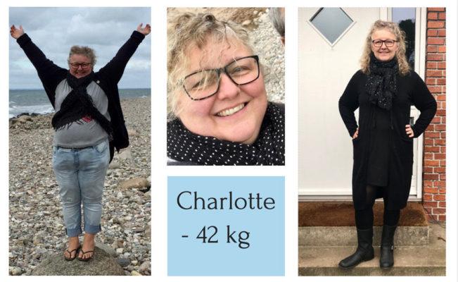 Vægttab med KETO - Charlotte tabte 42 kg
