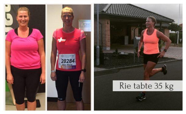 Rie tabte 35 kg med LCHF / KETO - læs hvordan her