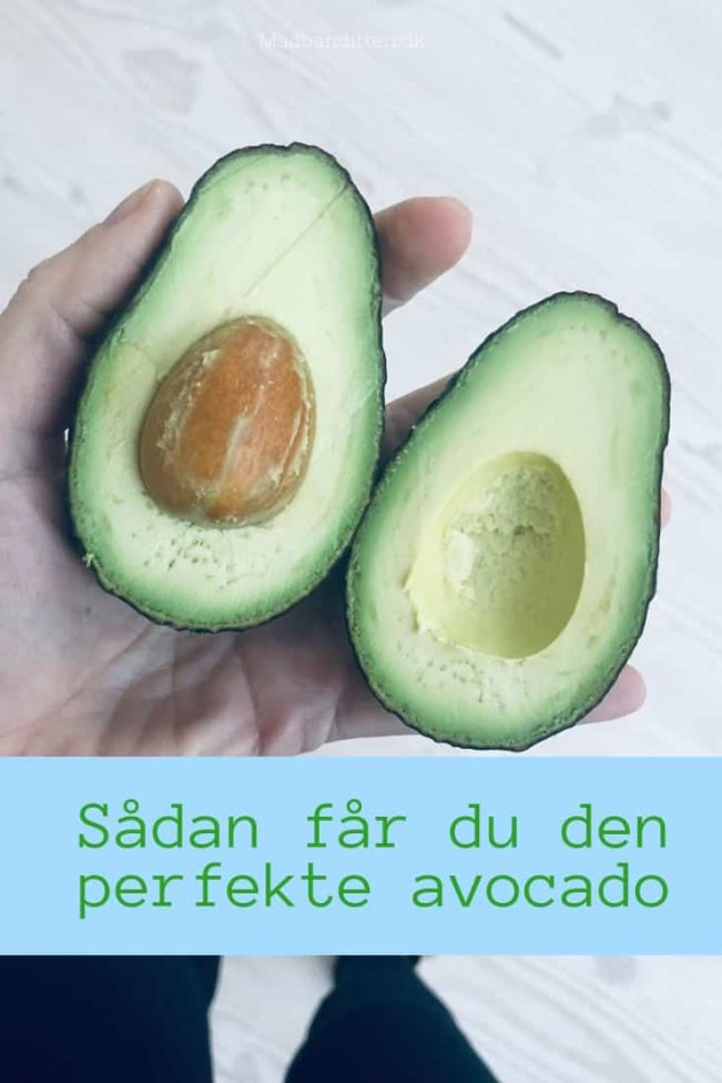Sådan får den den perfekte avocado - tips og tricks