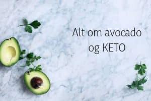 Avocado og KETO - hvad kan man spise i stedet for avocado på KETO?