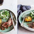 Kalvemørbrad med trøffelsauce og pommes Anna af rodfrugter - perfekt scoremiddag