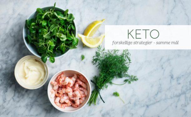 KETO strategier - sådan kommer du bedst i gang med KETO. Find den strategi, der passer til dig.