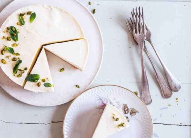 Key Lime Cheesecake - Low Carb - sukkerfri - LCHF - KETO - opskrift