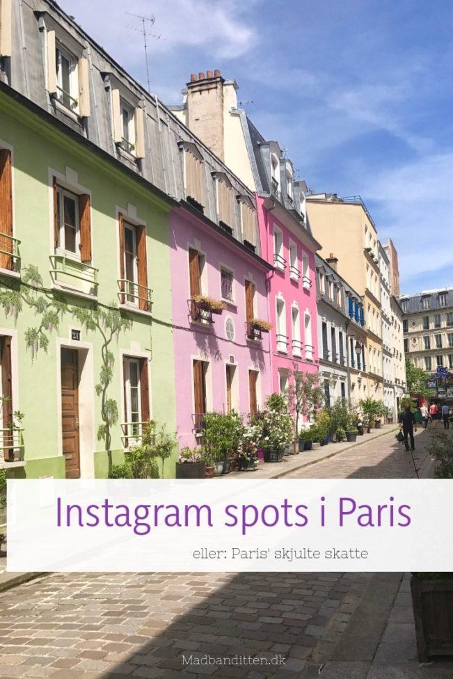 Perfekte Instagram spots i Paris - eller: Skjulte skatte i byernes by