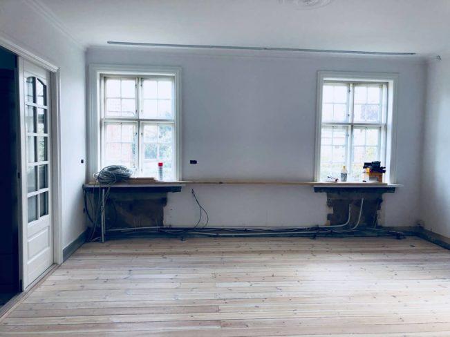 Vores byggeprojekt. Tilbygning, renovering osv. Før og efter billeder.