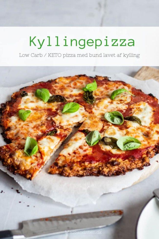 Kyllingepizza - opskrift på den BEDSTE KETO pizza derude.