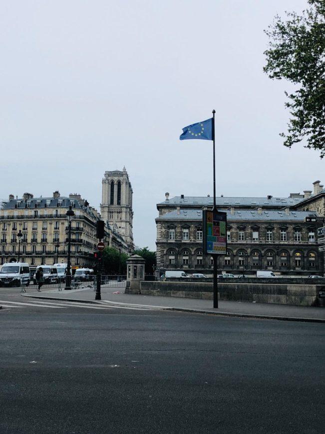Notre Dame efter branden