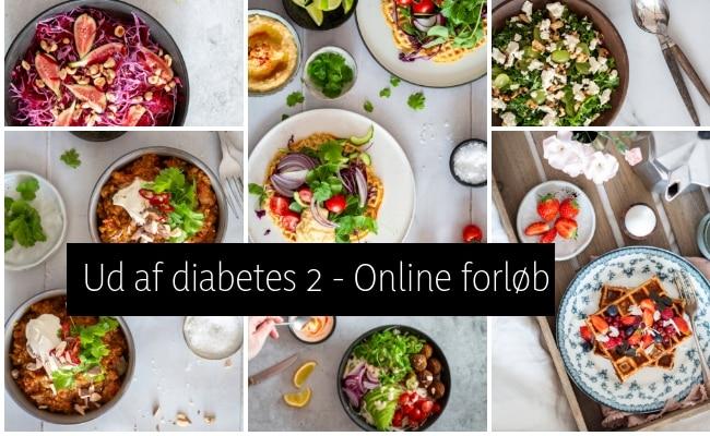 Ud af diabetes 2 - Online forløb til dig, der via kost og livsstil vil tage din diagnose i egen hånd