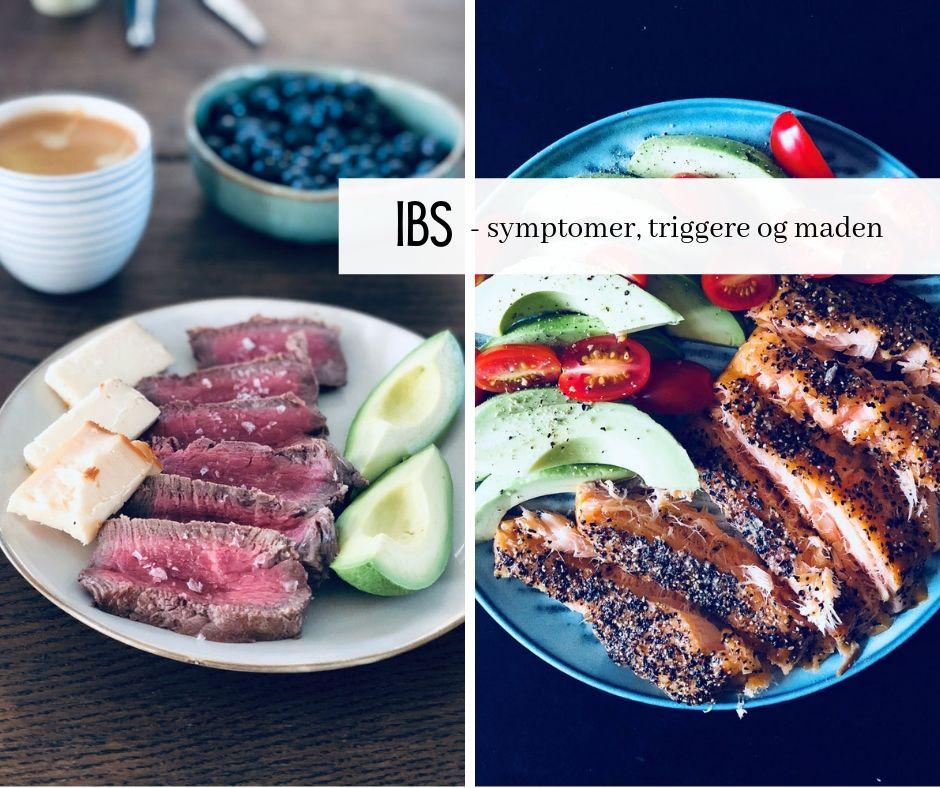 IBS - mad, symptomer og lindring