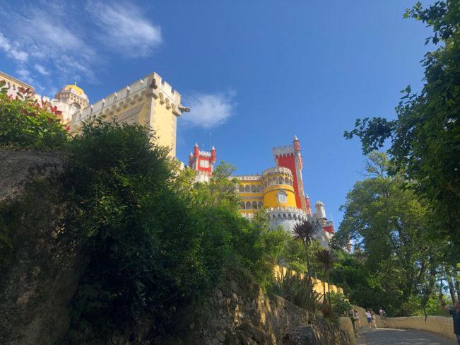 SINTRA - Palacio da Pena, et eventyrligt slot udenfor Lissabon