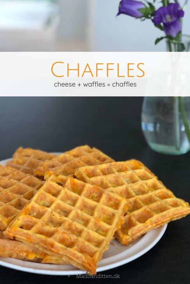 Chaffles - opskrift på de populære keto vafler - chaffler