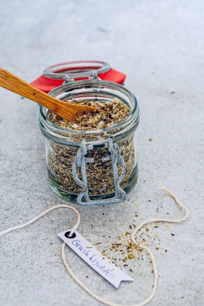 Græsk krydderiblanding - bland dit eget græske krydderi og få den helt rigtige græske smag.