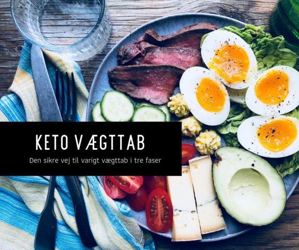 KETO vægttab - din vej til vægttab med KETO i tre faser
