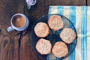 Vaniljecookies - opskrift på vaniljecookies med kokos - glutenfrie og low carb, LCHF, KETO