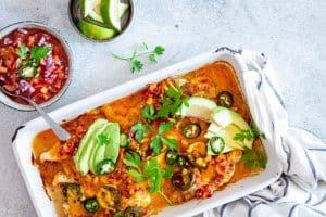 Kyllinge_nachos - eller kylling med nachostopping. KETO nachos.