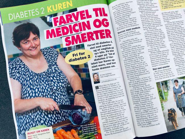 Farvel diabetes 2 - karen fik normalt blodsukker på 3 dage og tabte sig 7 kg på bare 4 uger