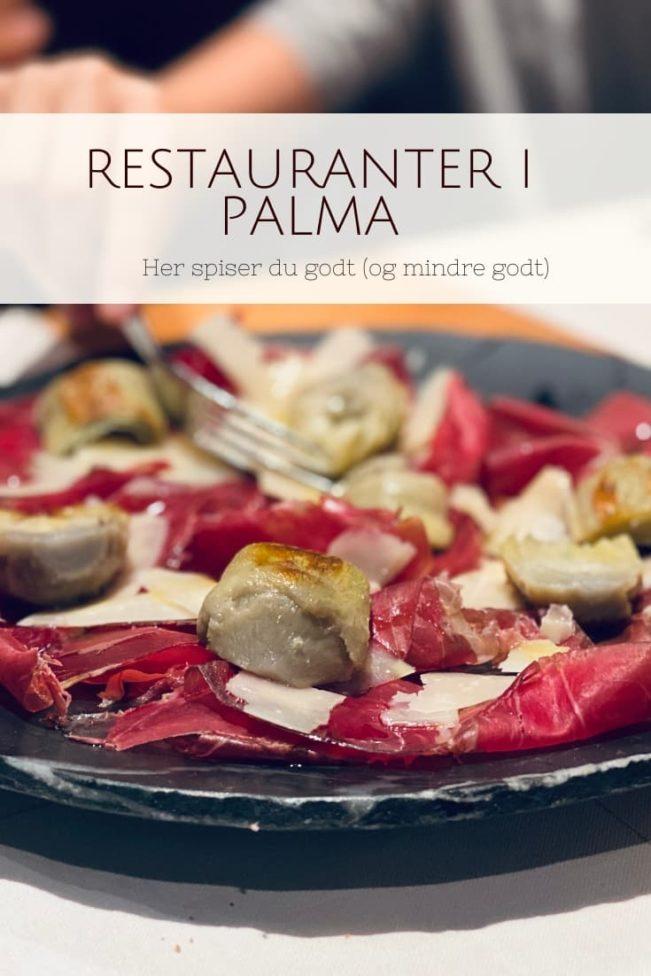 Restauranter Palma - her spiser du godt og mindre godt