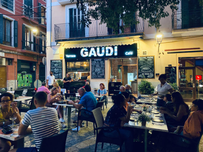 Restauranter i Palma - her spiste vi godt og skidt