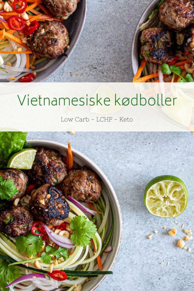 Vietnamesiske kødboller - opskrift på krydrede kødboller med inspiration fra Vietnam