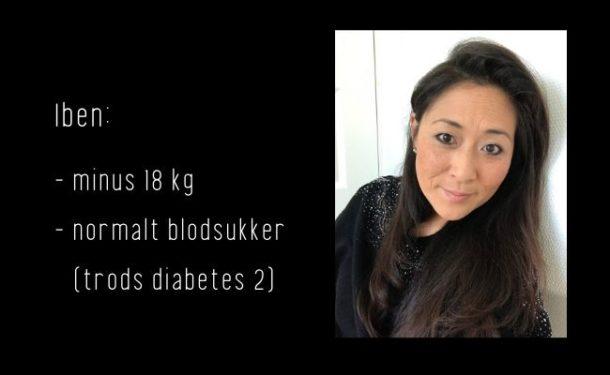 Iben spiste sig fra diabetes 2 med Keto - Low Carb