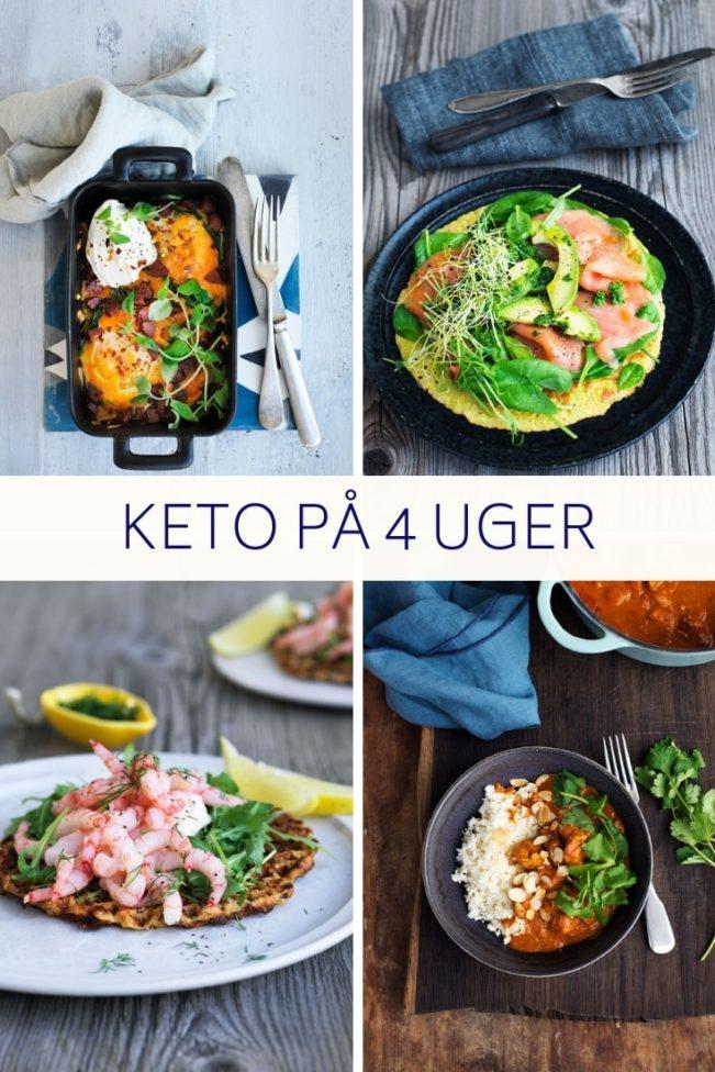 Keto på 4 uger - 75 opskrifter til vægttab med Keto af Jane Faerber