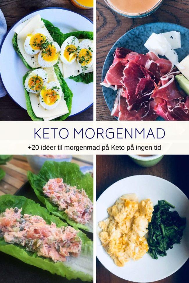 Keto morgenmad, der ikke tager tid at lave - +20 idéer til hurtig morgenmad på Keto