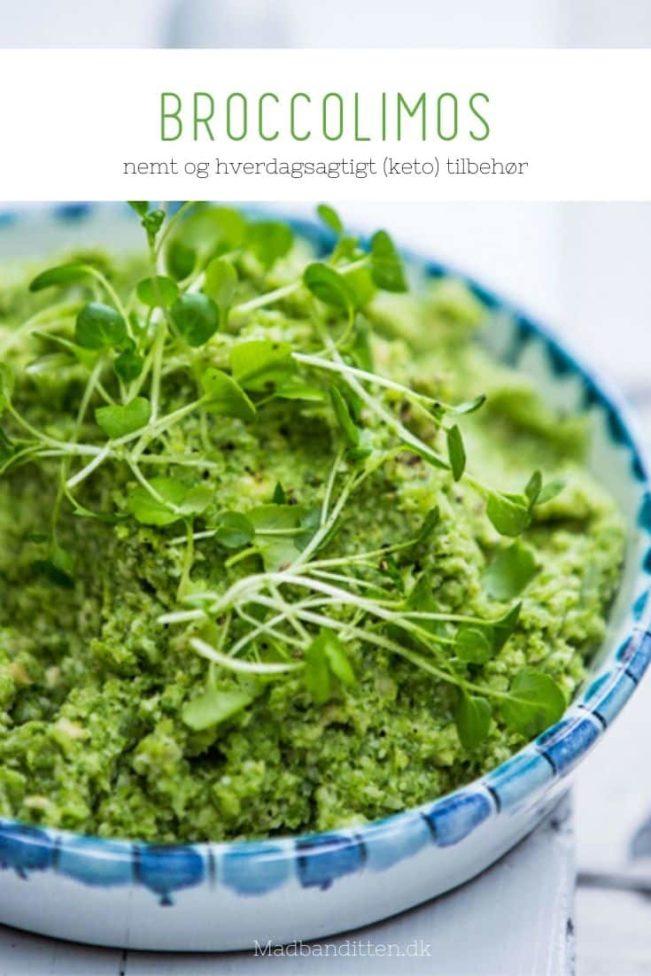 Broccolimos - opskrift på grønt Keto tilbehør, der er nemt og hverdagsegnet