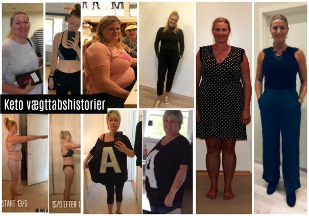Keto vægttab resultater og før og efter billeder
