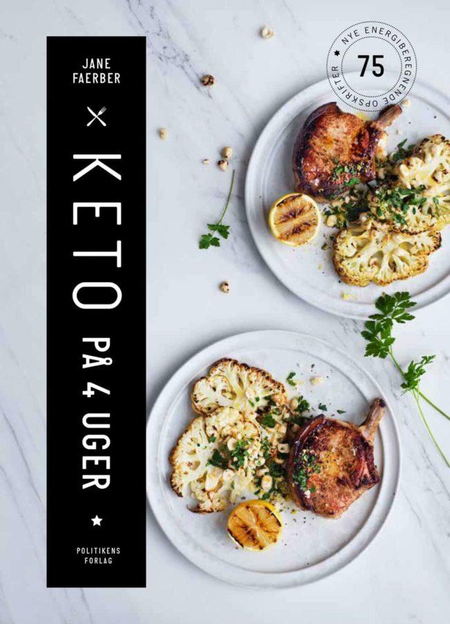 Keto på 4 uger - bog af Jane Faerber