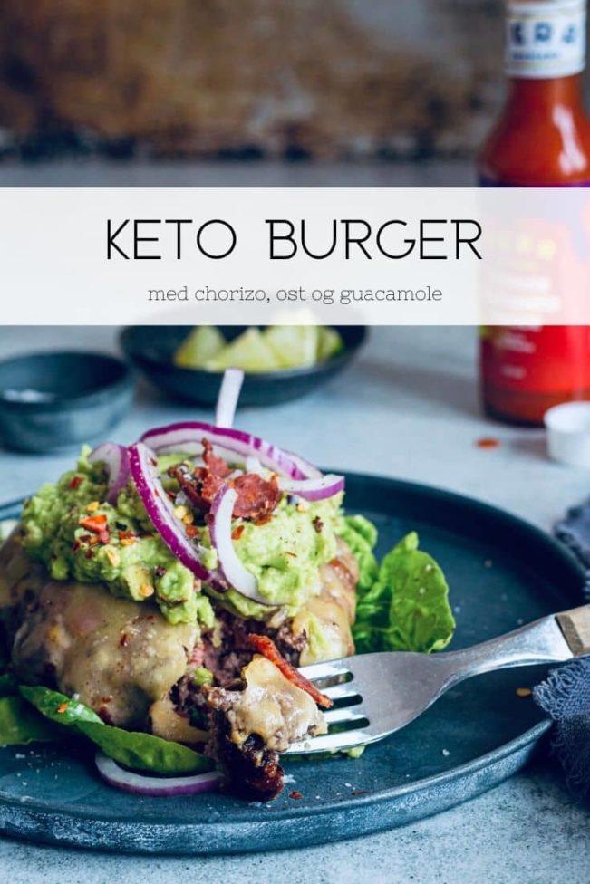 Keto-burger - opskrift på den lækreste burger uden brød