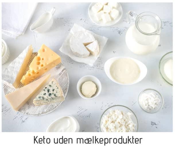 Keto uden mælkeprodukter - er det bedre for vægttab?