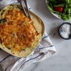 Lakselasagne - Keto opskrift på lasagnefad med laks og spinat