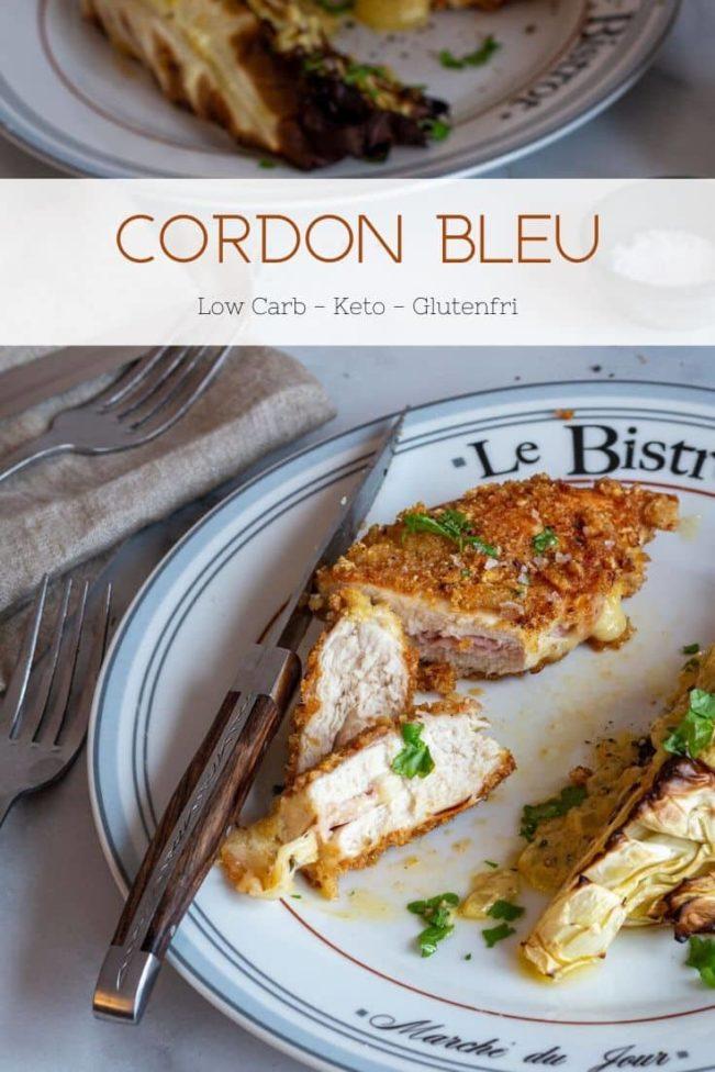 Cordon bleu - opskrift på den lækre klassiske ret med kylling - i Keto-version uden kulhydrater